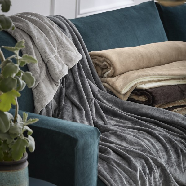 double soft Decke s.Oliver 3792