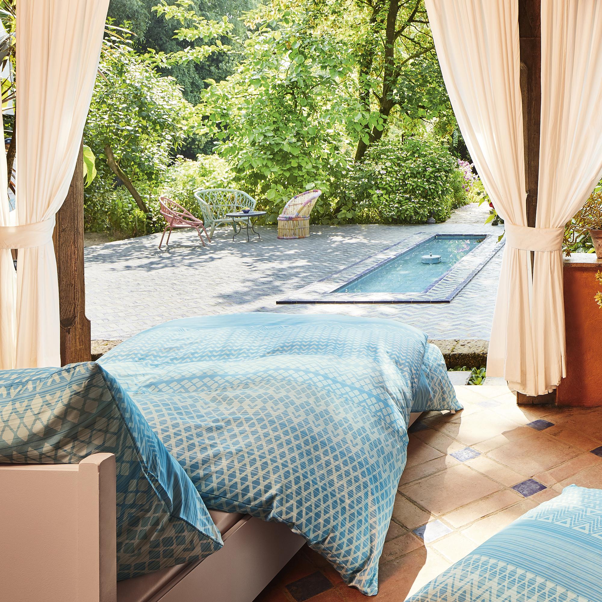 ibena bettw sche serang 135x200 cm satinbettw sche 100. Black Bedroom Furniture Sets. Home Design Ideas