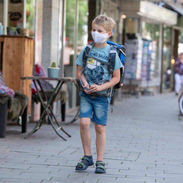 IBENA Protect Kinder Mund-Nasen-Maske 5er Pack