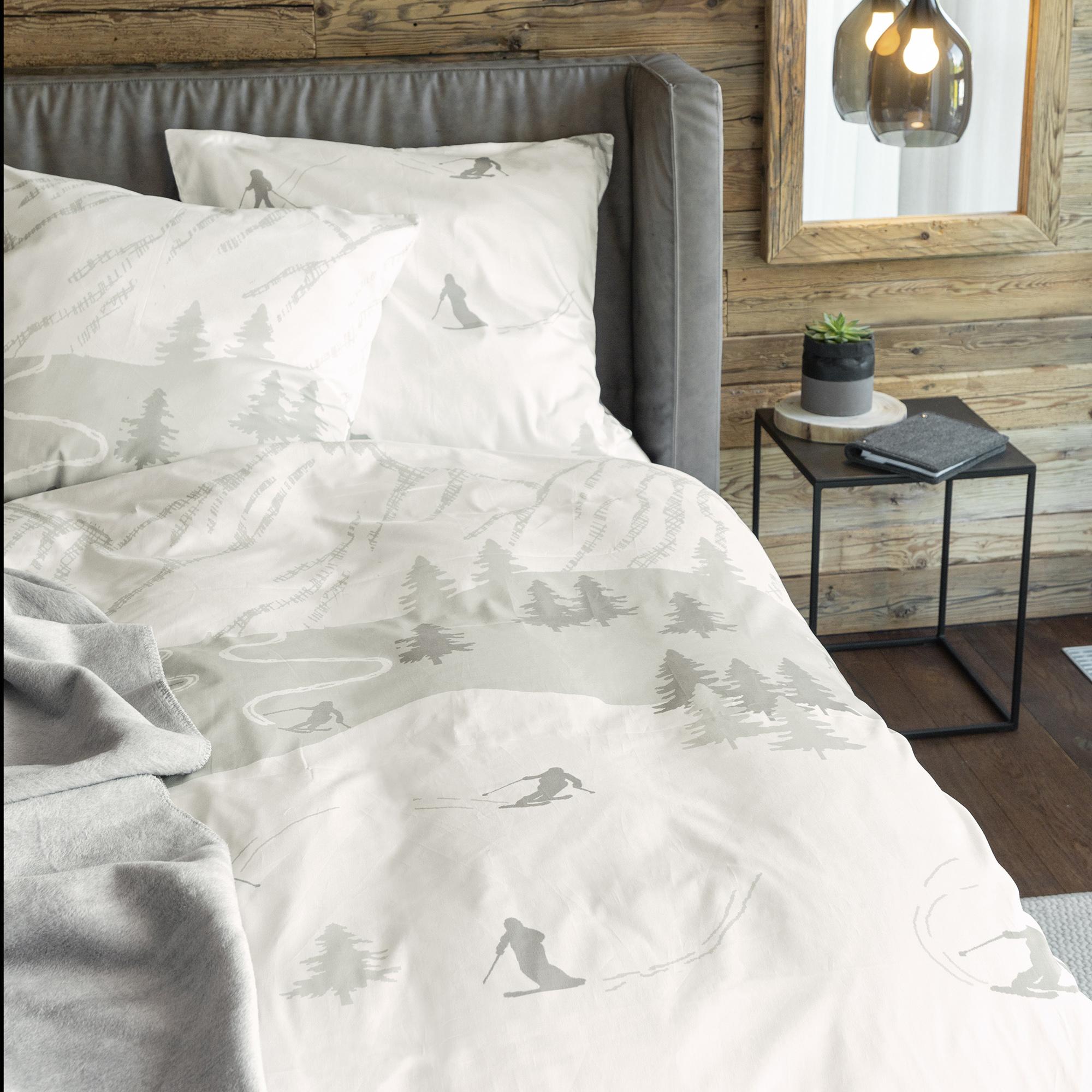 zeitgeist bettw sche 135x200cm flauschig warme. Black Bedroom Furniture Sets. Home Design Ideas