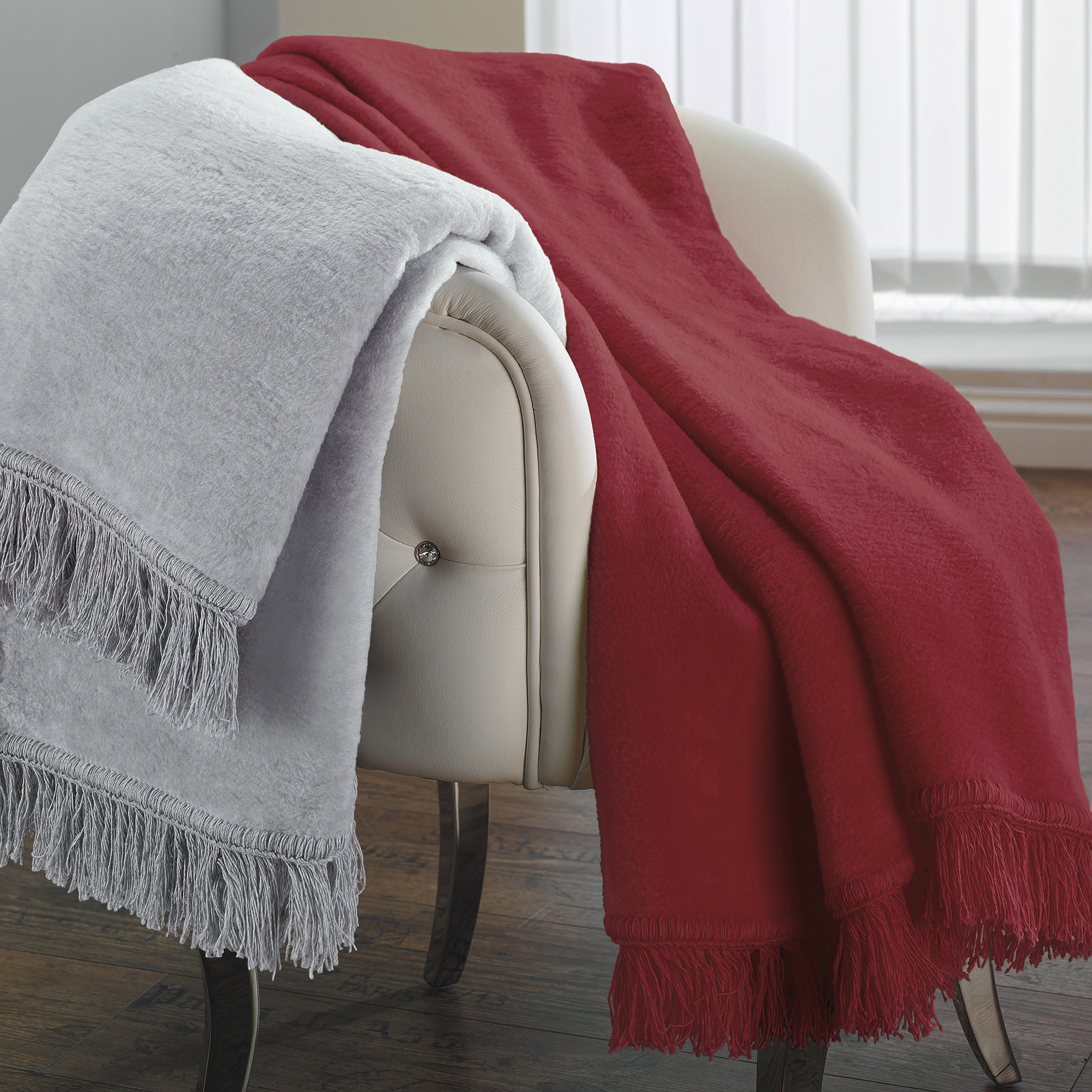 uni plaid nizza ibena online shop. Black Bedroom Furniture Sets. Home Design Ideas