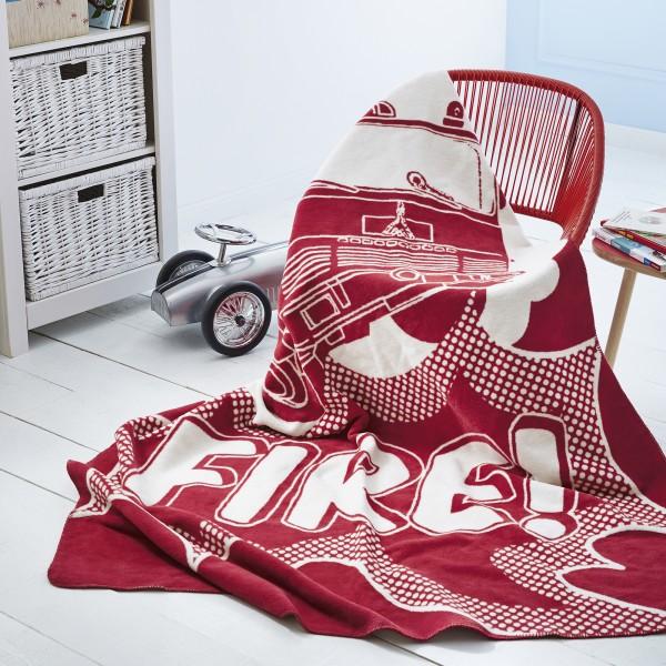 jacquard decke s oliver junior ibena online shop. Black Bedroom Furniture Sets. Home Design Ideas
