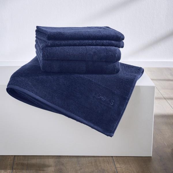 LOOKS by Wolfgang Joop 6 tlg. Handtuch Set blau